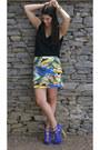 Zara-shirt-melap-skirt-steve-madden-heels