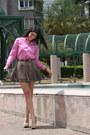 Polo-shirt-ann-taylor-skirt-boutique-9-pumps-vintage-belt