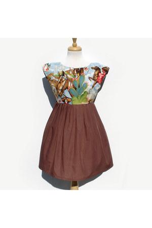 cotton Hemet dress