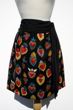 wrap skirt Hemet skirt