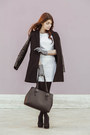 Milly-ny-dress-sheinside-coat-benetton-bag-enrico-lugani-heels