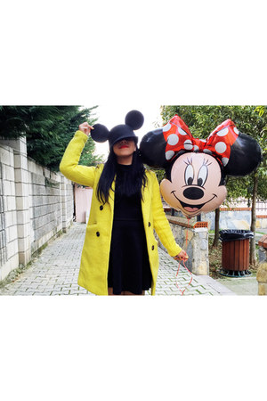 black mickey ears hat choiescom hat - yellowstiletto Zara shoes