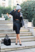 Zara skirt - Beymen shoes - Zara coat - Stylestories hat - Furla bag