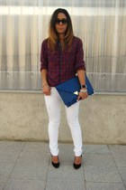 New Yorker Man shirt - asos bag - asos heels