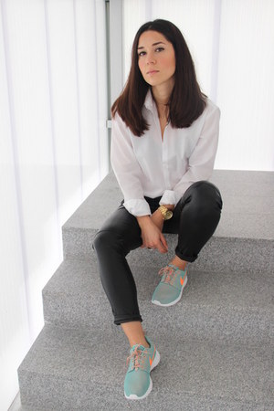 nike sneakers - Zara shirt - Choies pants