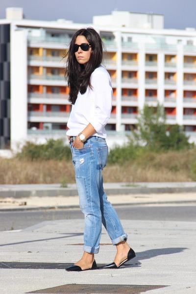 Zara jeans - Zara flats