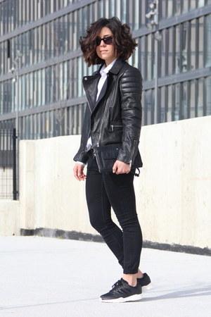 Mango jacket - Adidas sneakers