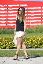 Zara skirt - Oysho t-shirt
