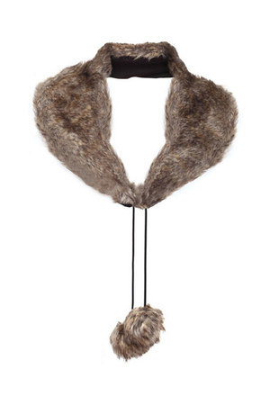 faux fur collar romwe accessories