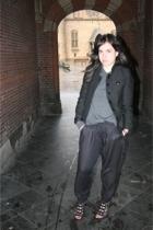 H&M jacket - COS sweater - Zara pants - Zara shoes