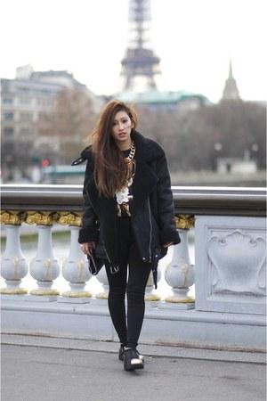 black Senso boots - black Yesstyle coat