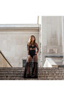 Black-lace-long-dress-urban-outfitters-dress