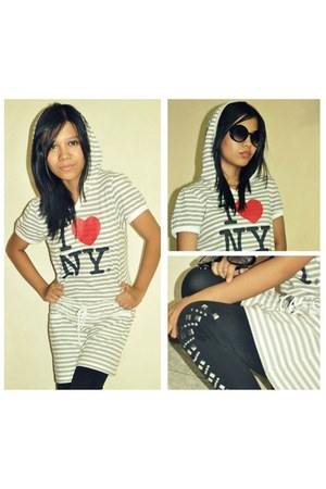I 3 New York hoodie - leggings - sunglasses