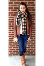 Nine-west-boots-american-eagle-jeans-guess-jacket-charlotte-russe-scarf