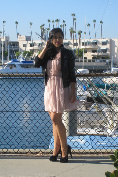 Steve Madden pumps - Forever 21 dress - Forever 21 jacket