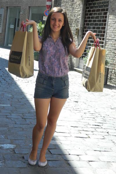 size xs Terranova blouse - size s H&M pants