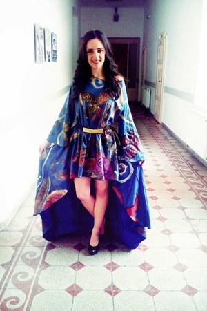navy Stefanias trendy look dress