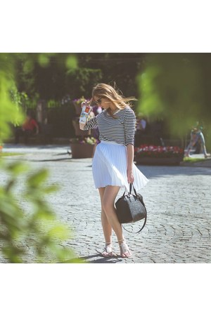 Zara sandals - H&M bag - Zara blouse