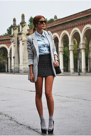 black H&M glasses