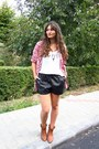 Tawny-c-a-boots-red-h-m-shirt-black-faux-leather-h-m-shorts