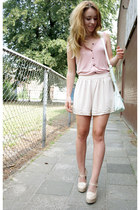 H&M shorts - Primark bag - H&M top - Forever 21 heels
