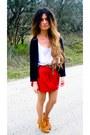 Camel-gojane-shoes-black-isabel-marant-cardigan-topshop-t-shirt-leopard-pr