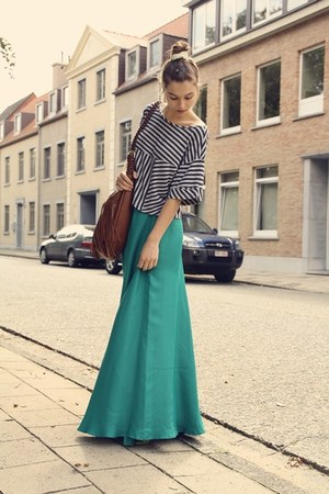 Mango skirt - H&M shirt - H&M bag