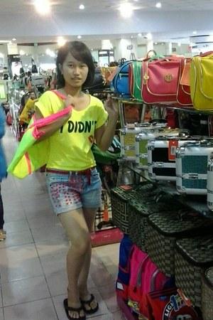 chic Zara dress - color Ebay bag