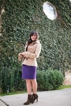 stuart weitzman boots - Diane Von Furstenberg dress - Zara jacket