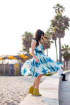 Anthropologie dress - shoemint wedges