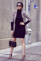 animal print OASAP blazer