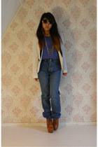 Kijkshop necklace - jeans - Primark blazer - c&a sunglasses