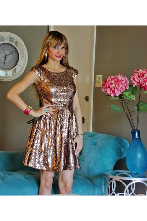 sequin RuleHim dress
