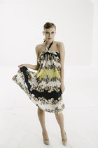 New designer floral trapeze flowy dress