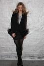 Black-elizabeth-and-james-blazer-silver-forever21-necklace-off-white-vintage
