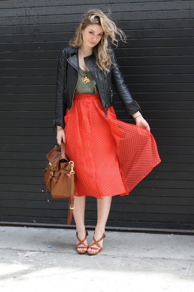 ... best price thrifted jacket mulberry bag forever21 top rebecca taylor  skirt adc33 14a1a bb88a5be25ac9