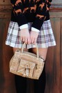 Black-h-m-sweater-dark-brown-payless-shoes-tan-bag-black-forever-21-socks