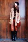 Black-boots-black-h-m-sweater-tan-h-m-blazer-brick-red-bag