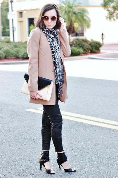 heels - H&M blazer - Forever 21 bag - H&M sunglasses - H&M pants