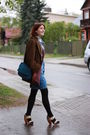 Blue-h-m-skirt-lindex-scarf-httpdaiktuistorijosblogspotcom-skirt-white-tri