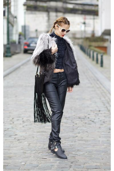 Chicwish-coat-romwe-pants