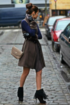 Zara boots - liu jo coat