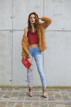 wholesalebuying coat - GodSaveQueens bra - IAMU Collective accessories