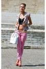 Blanco-jacket-bershka-heels