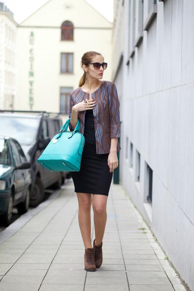 verysimple bag - Marie& Frisco blazer - Rings& Tings accessories