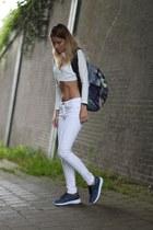 MrGUGU& Miss GO bag - Choies top - MrGUGU& Miss GO sneakers