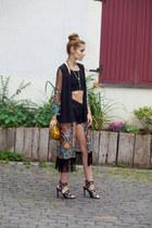 Kitsch accessories - Kitsch accessories - HLCollection necklace - shein cardigan