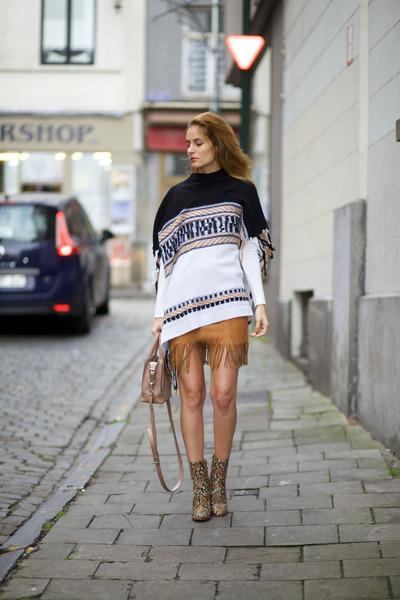 OASAP cape - mode skirt