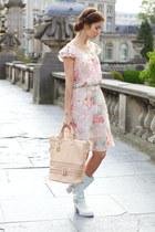 verysimple dress - Sweet Lemon boots - verysimple bag - InNecklace necklace