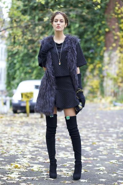 Choies suit - Pretty Purple Boutique accessories